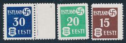 ** ESTONIE - OCCUPATION ALLEMANDE - Estonia