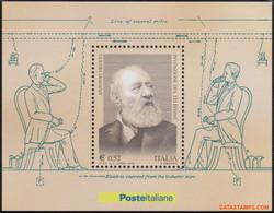 Italie 2003 - Mi:BL 31, Yv:BL 34, Block - XX - Antonio Meucci Scientist - Hojas Bloque