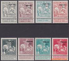 België 1911 - Mi:81 III/ 88 III, Yv:100/107, OBP:100/107, Stamp - XX - Caritas Charleroi 1911 - 1910-1911 Caritas
