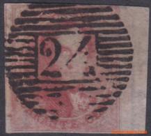 België 1849 - Mi:5, Yv:5, OBP:5, Stamp - O - Leopold I Medallions - 1849 Epaulettes