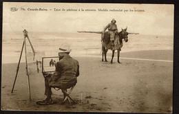 Coxyde - Bains / Koksijde - Type De Pêcheur à La Crevettes - Modèle Recherché Par Les Artistes - Circulée - Voir Scans - Koksijde
