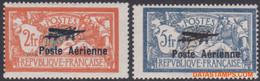 Frankrijk 1927 - Mi:220/221, Yv:PA 1/2, Airmail Stamps - X - Aviation Salon - 1927-1959 Ungebraucht