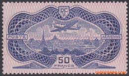 Frankrijk 1936 - Mi:321, Yv:PA 15, Airmail Stamps - X - Plane Above Paris - 1927-1959 Ungebraucht
