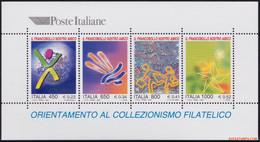 Italie 1999 - Mi:BL 19, Yv:BL 21, Block - XX - Stamp My Friend - Hojas Bloque