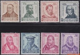 België 1942 - Mi:600/607, Yv:593/600, OBP:593/600, Stamp - XX - Tubercelosis Control Flemish Scholars - Unused Stamps