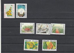 Cameroun 1986 1987 Yvert 810 Et 811 + 812 à 814 + 815 Et 816 ** Neuf Sans Charnière - Camerun (1960-...)