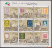 Italie 1985 - Mi:1945/1953, Yv:BL 1, Block - XX - Italia 85 - Hojas Bloque
