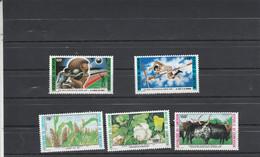 Cameroun 1987 Yvert 817 Et 818 + 819 à 821  ** Neuf Sans Charnière - Camerun (1960-...)