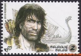 België 2015 - Mi:4530, Yv:4463, OBP:4484, Stamp - XX - Youth Philately Thorgal - Ungebraucht
