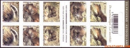 België 2008 - Mi:MH 3883/3887, Yv:C 3818, OBP:B 96, Booklet - XX - Nature Mite-like - Booklets 1953-....