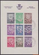 België 1941 - Mi:BL 9B, Yv:BL 10a, OBP:BL 10A, Block - O - Second Winter Aid Issue - Blocchi 1924 – 1960