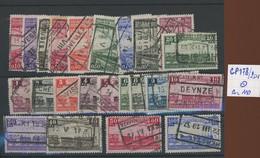178/201. Ø.  Centenaire Du Chemin De Fer.    Cote 110,--€ - 1923-1941