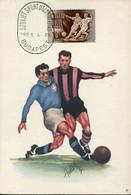 65565  Hungary    Maximum  21.1.1951  Football - Storia Postale