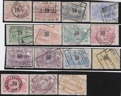 Belgie   .   OBP    .    TR  15/27     .    O   .       Gestempeld   .   /   .   Oblitéré - 1895-1913