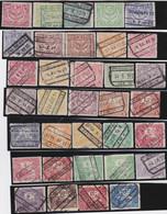 Belgie   .   OBP    .    TR  100/127     .    O   .       Gestempeld   .   /   .   Oblitéré - 1923-1941
