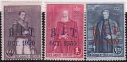 Belgie   .   OBP    .  305/307     .       *     .    Ongebruikt Met Gom   .   /   .   Neuf  Avec Gomme - Unused Stamps