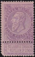 Belgie   .   OBP    .   66   .       *     .    Ongebruikt Met Gom   .   /   .   Neuf  Avec Gomme - 1893-1900 Thin Beard