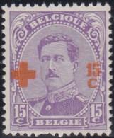 Belgie   .   OBP    .   154       .       **     .   Postfris  .   /   .   Neuf  SANS Charnière - 1918 Croce Rossa