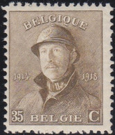 Belgie   .   OBP    .   172      .       **     .   Postfris  .   /   .   Neuf  SANS Charnière - 1919-1920 Trench Helmet