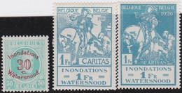 Belgie   .   OBP    .    237/239     .       *     .    Ongebruikt Met Gom   .   /   .   Neuf  Avec Gomme - Unused Stamps