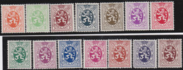 Belgie   .   OBP    .   276/288A      .       **     .   Postfris  .   /   .   Neuf  SANS Charnière - Unused Stamps