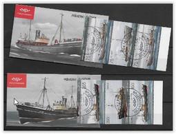 Islande 2010 Carnets N° C 1194/1196 Oblitérés Bateaux De Pêche - Cuadernillos/libretas