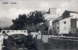 LOANO-Castello-Vg Il 15-1-1913 X Perù Lima-ORIGINALE 100%-9 X14- - Savona
