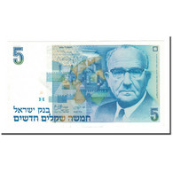 Billet, Israel, 5 New Sheqalim, 1985, KM:52a, SPL - Israël