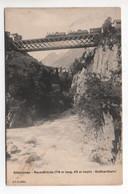 GÖSCHENEN Reussbrücke Gotthardbahn - UR Uri
