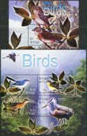 TUVALU 2003 Birds Cranes Sparrow Animals Fauna MNH - Cranes And Other Gruiformes