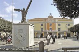 (P538) - GRICIGNANO D'AVERSA (Caserta) - Municipio E Monumento Ai Caduti - Caserta