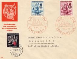 Brief Deutsches Reich Böhmen Und Mähren Sonderstempel Des Großdeutschen Reiches - Sectores De Coordinación