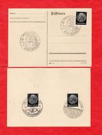 9 Postkarten Deutsches Reich Mit Tollen Sonderstempeln - Sin Clasificación