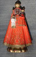 Belle Figurine Statuette Religieuse Vierge Noire De EINSIEDELN - Religion & Esotérisme