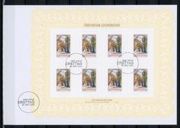 Liechtenstein KB-Satz Mit MiNr. 1361-63 Ersttagsbriefe/ FDC Weihnachten (GG1565 - Bloques & Hojas