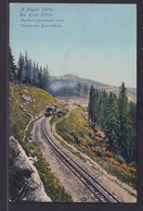 Ansichtskarte Csorber See Zahnradbahn Hohe Tatra Slowakei Nach Brunn Am Gebirge - Slovakia