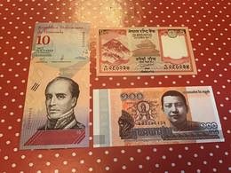LOT 3 BILLETS VOIR LE SCAN POUR L'ÉTAT - Kilowaar - Bankbiljetten