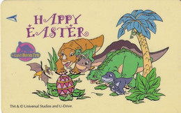 SINGAPORE(GPT) - Cartoon, The Land Before Time/Happy Easter, CN : 179SIGA99(normal 0), Used - Fumetti