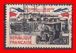 FRANCIA – TIMBRES. AÑO 1964 50 ANIVERSARIO DE LA VICTORIA DE MARNE - Usati