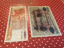 LOT 13 BILLETS VOIR LE SCAN POUR L'ÉTAT - Kilowaar - Bankbiljetten
