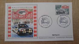 N°1816 - FDC 60e Rallye Automobile De Monaco - FDC