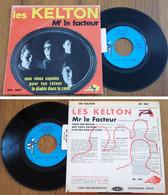 "RARE French EP 45t RPM BIEM (7"") LES KELTON (Lang, 1964) - Rock"
