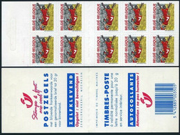 Soccer Football Belgium Booklet 2945 UEFA 2000 Championships MNH ** - Eurocopa (UEFA)