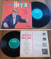 "RARE French LP 33t RPM 25cm BIEM (10"") JOHNNY HALLYDAY (1962) - Rock"