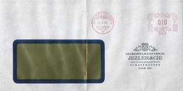 "Motiv Brief  ""Jezler & Cie., Silberwaren, Schaffhausen""  (Freistempel)         1940 - Covers & Documents"