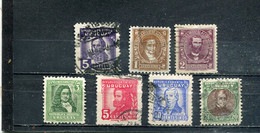 Uruguay 1945-47 Yt 560-566 - Uruguay