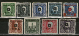 YUGOSLAVIA 1919 Bosnia & Herzegovina Postage Stamps Overprinted - Latin Letters MNH - Nuovi