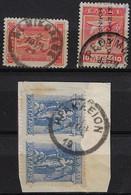 CRETE, 3 POSTMARKS: AG NIKOLAOS(ΑΓ.ΝΙΚΟΛΑΟΣ), RETHYMNON(ΡΕΘΥΜΝΟΝ), IRAKLEION(ΗΡΑΚΛΕΙΟΝ) - Crete