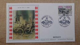 N°1942 - FDC Voitures Anciennes - FDC