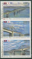 Laos 2000 Bauwerke Brücken Mekong-Brücke Bei Pakse 1721/23 Postfrisch - Laos